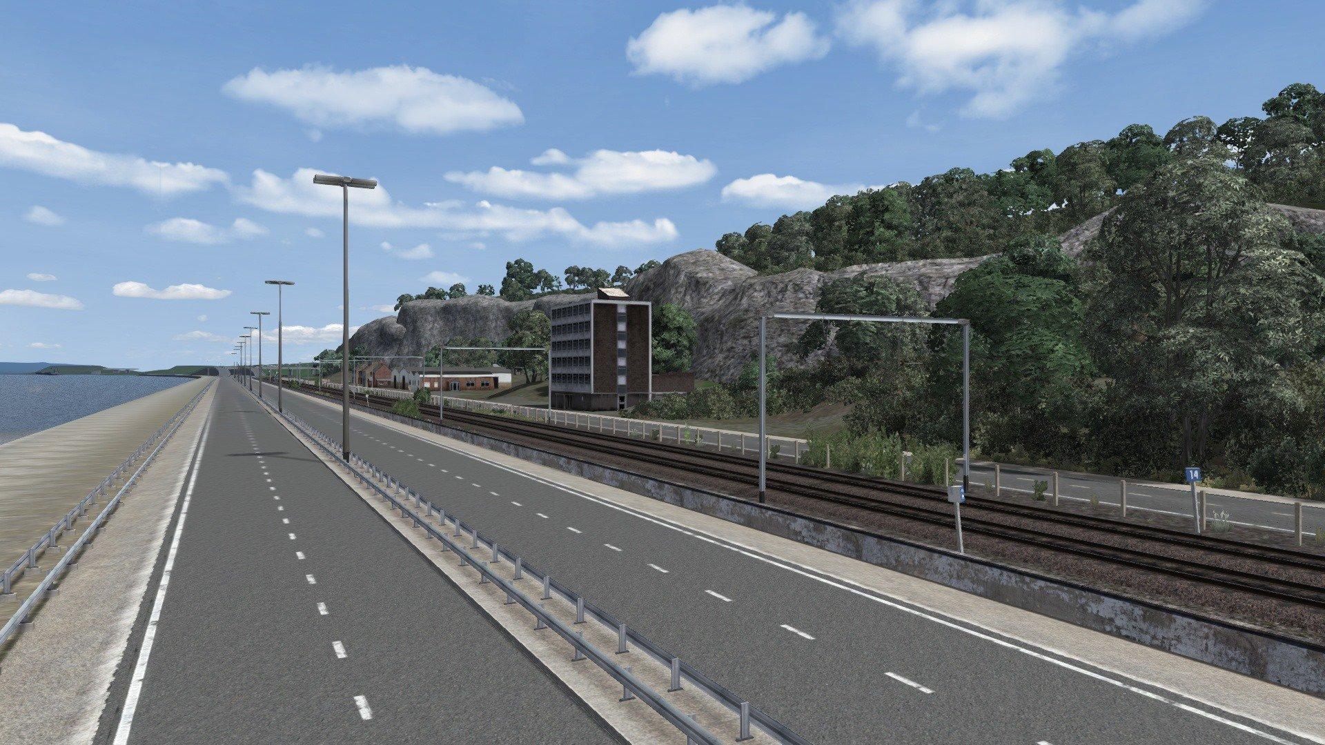 Verlichting Snelweg België