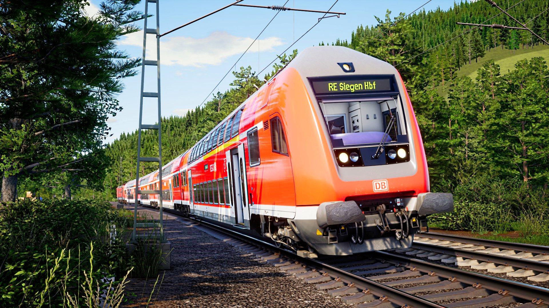 Train Sim World 2020 DB DoppelStockwagen  Ruhr-Sieg Nord: Hagen - Finnentrop