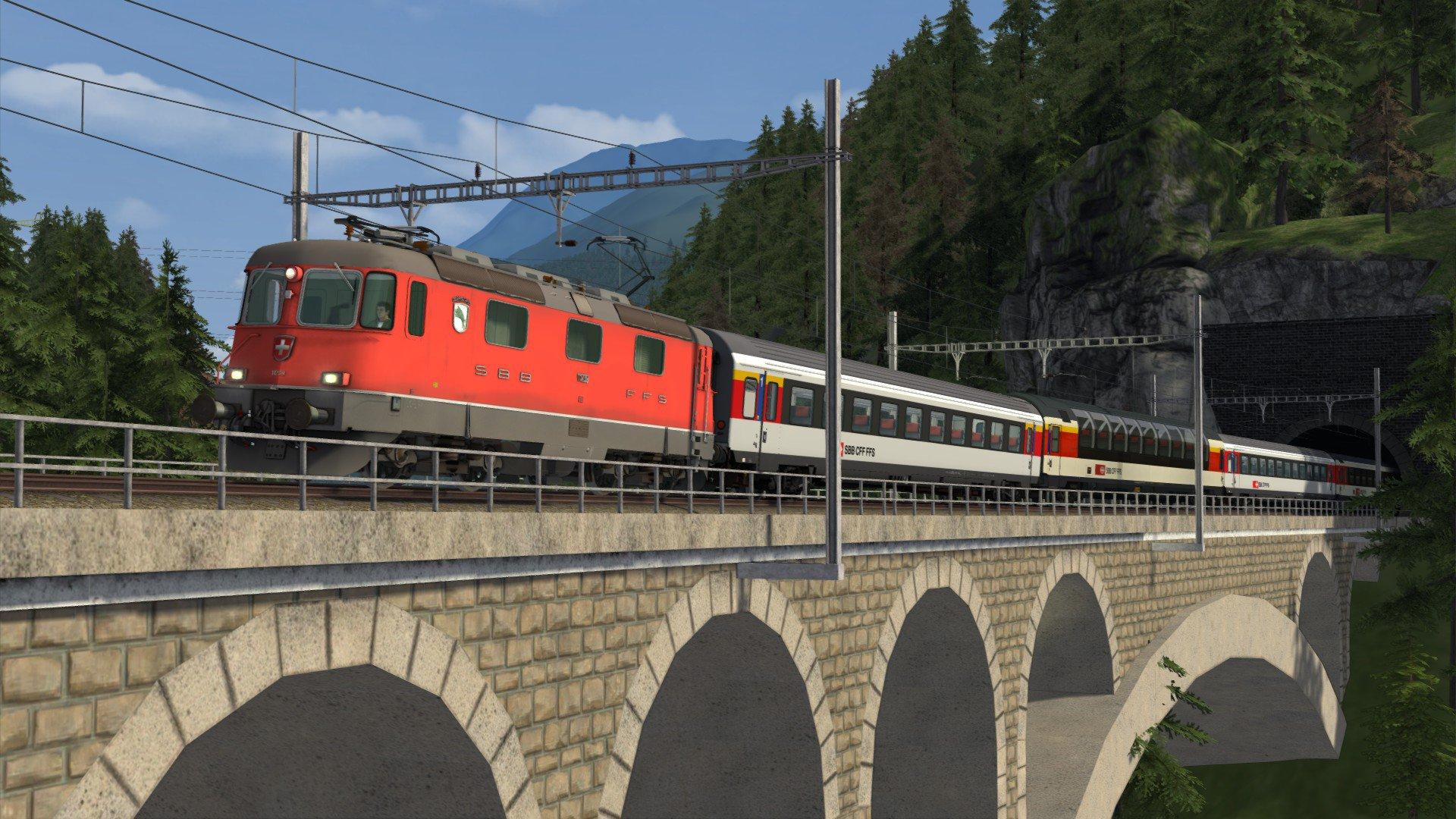 InterRegio over de Gotthardbahn
