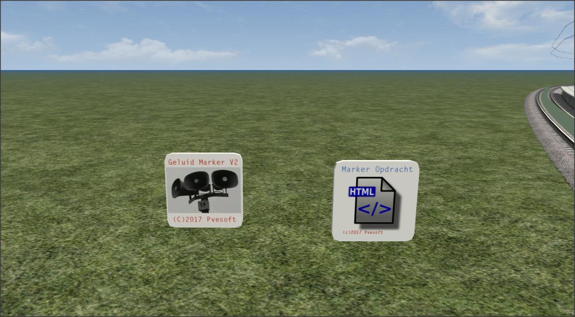 Geluids marker en Opdrachten marker voor Scenario makers 2.1
