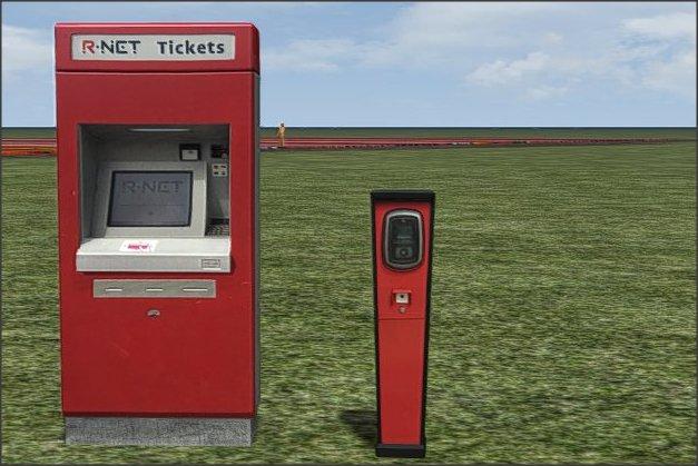 R-Net Kaart automaat en incheckzuil 1.0.