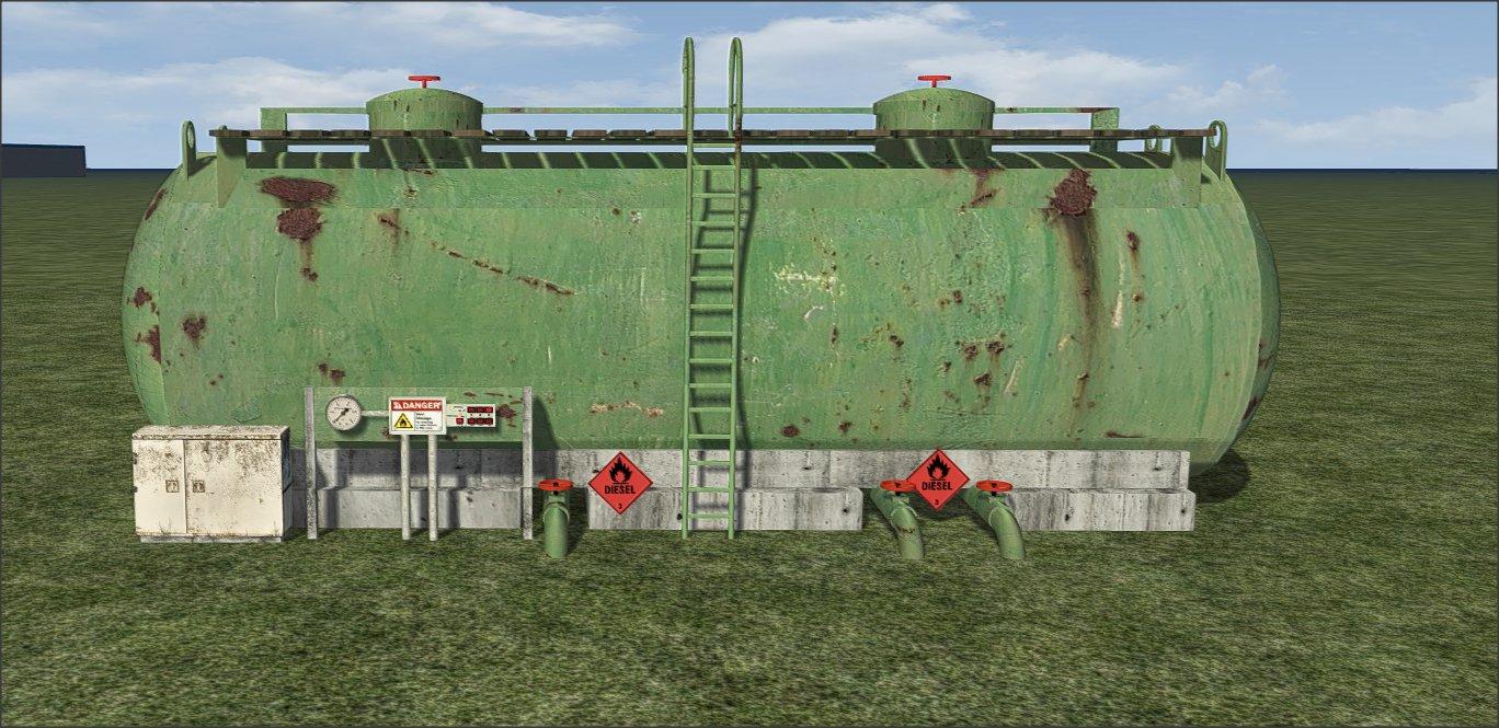 Dieseltanks Upgrade naar Versie 2