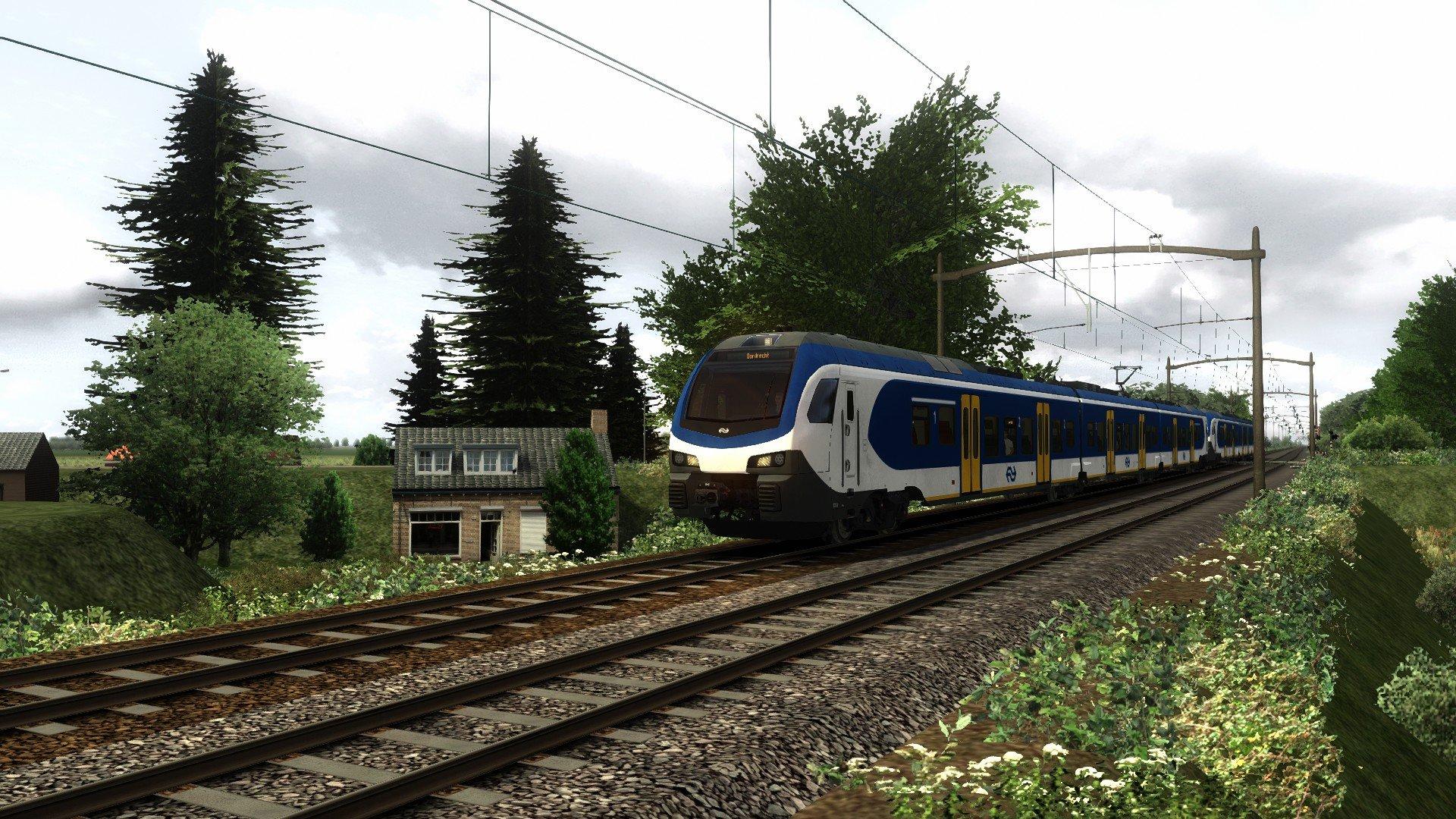 Sprinter 3611 naar Dordrecht