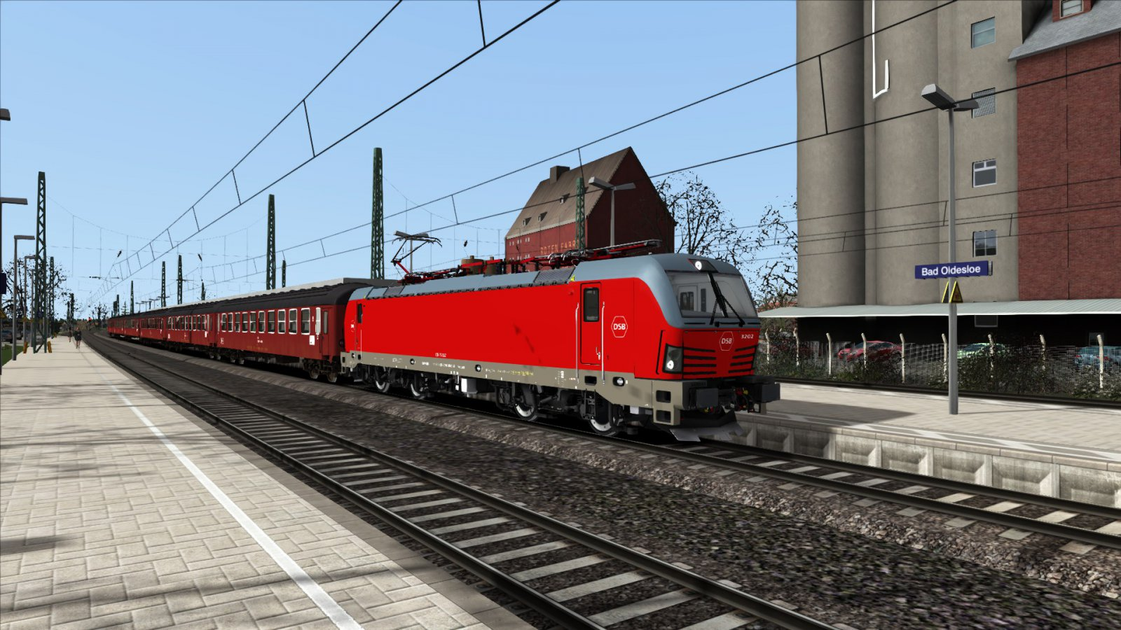 DSB ri Hamburg HBf in Bad Schwartau